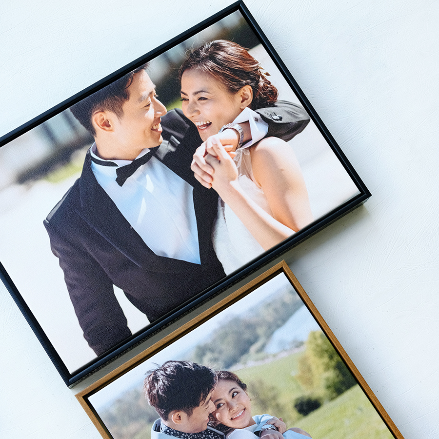 WOODEN FLOAT FRAME CANVAS 18x27