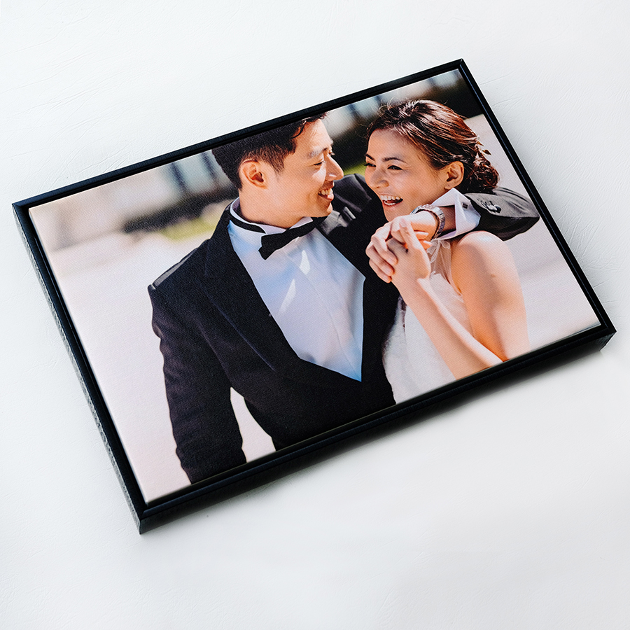 WOODEN FLOAT FRAME CANVAS 16x24