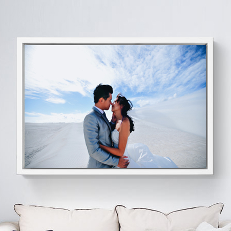 WOODEN FLOAT FRAME CANVAS 20x30
