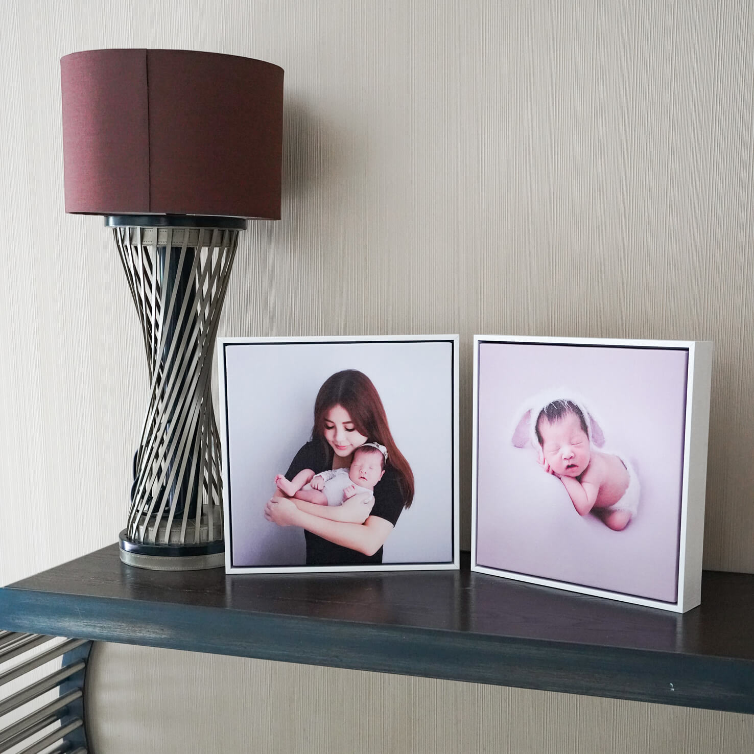 WOODEN FLOAT FRAME CANVAS12x12